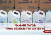 》Review Đánh Giá Chi Tiết Nước Giặt Dnee Thái Lan Cho Bé《