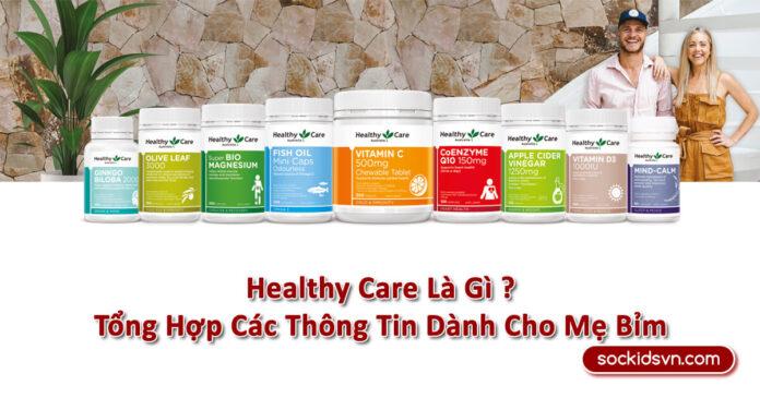 【Healthy Care】》Thông Tin Thương Hiệu Dành Cho Mẹ Bỉm《