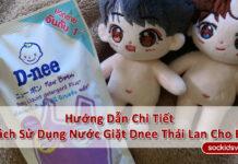 Hướng Dẫn Cách Sử Dụng Nước Giặt Dnee Thái Lan Chi Tiết Nhất